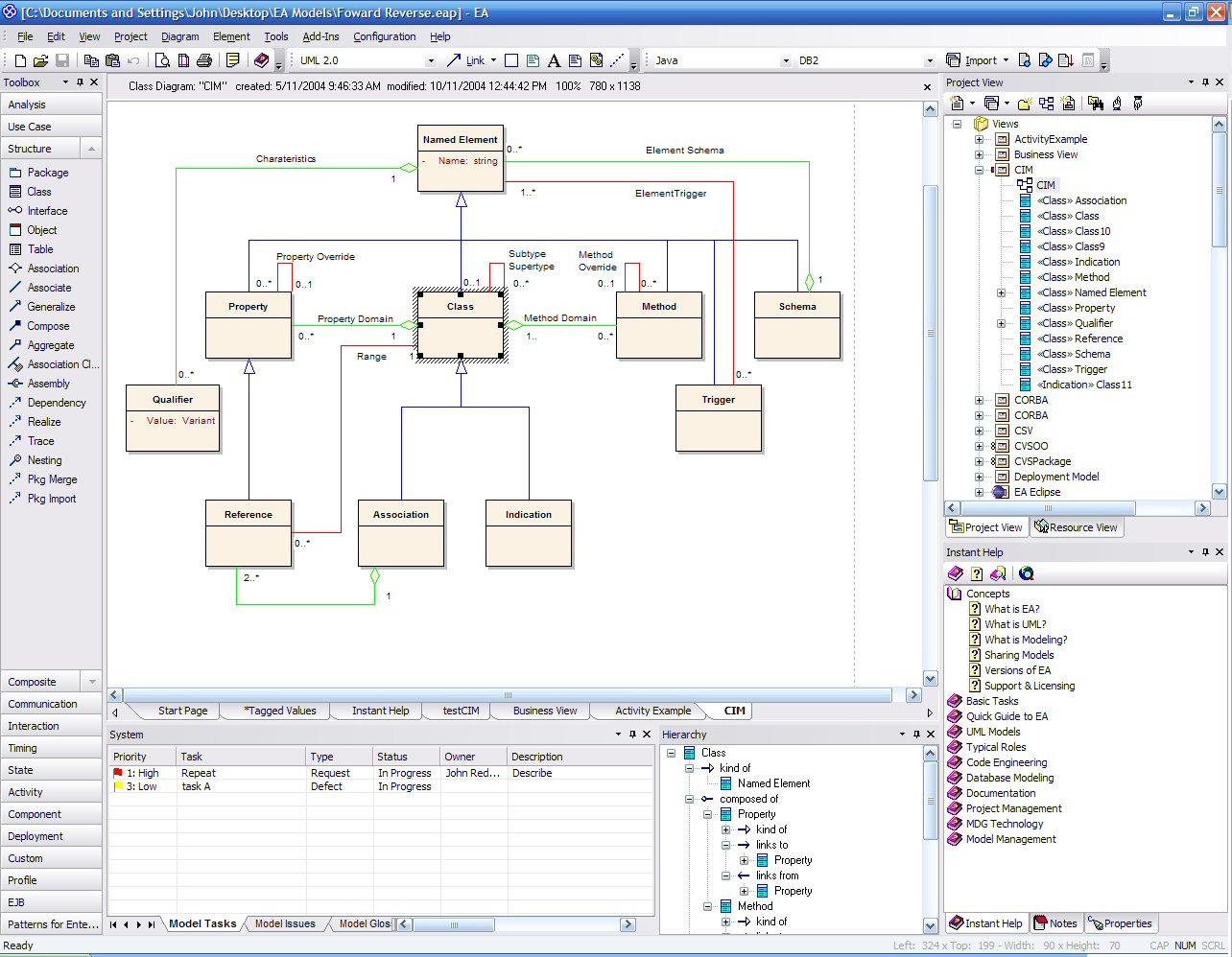 enterprise architect � uml design tool � federico cargnelutti